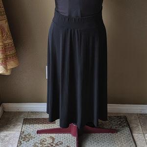 Worthington Basic Black Perfect Skirt Sz 2x
